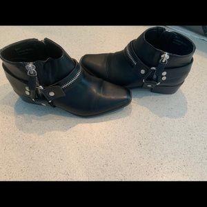 Cool Black Booties